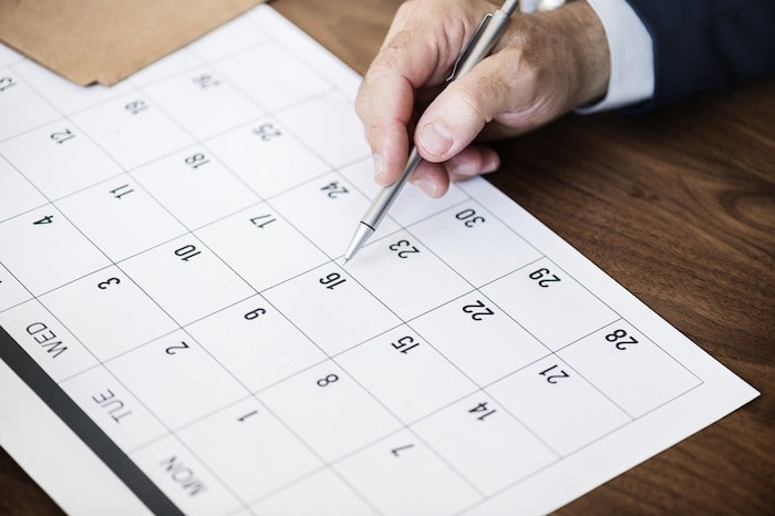 calendario odontológico