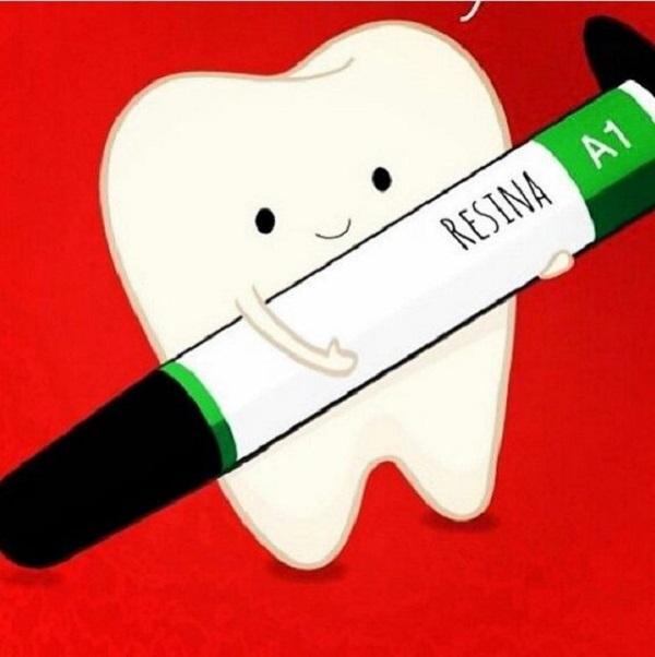 resina para la estética dental